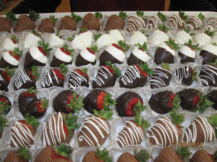 Chocolate Covered Strawberry Decorating Ideas - Elitflat